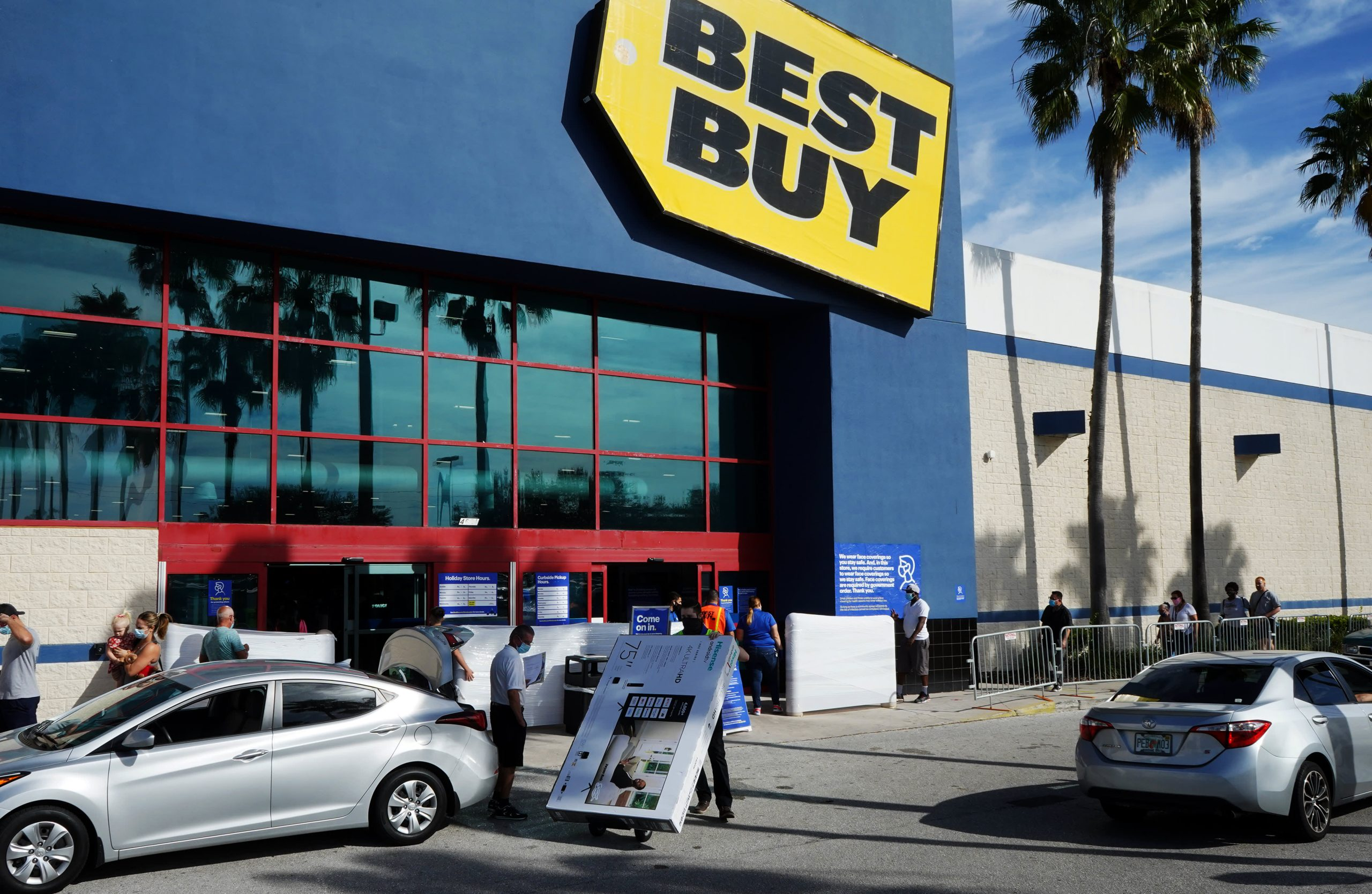 Best Buy, Altice, Occidental, Moderna and more