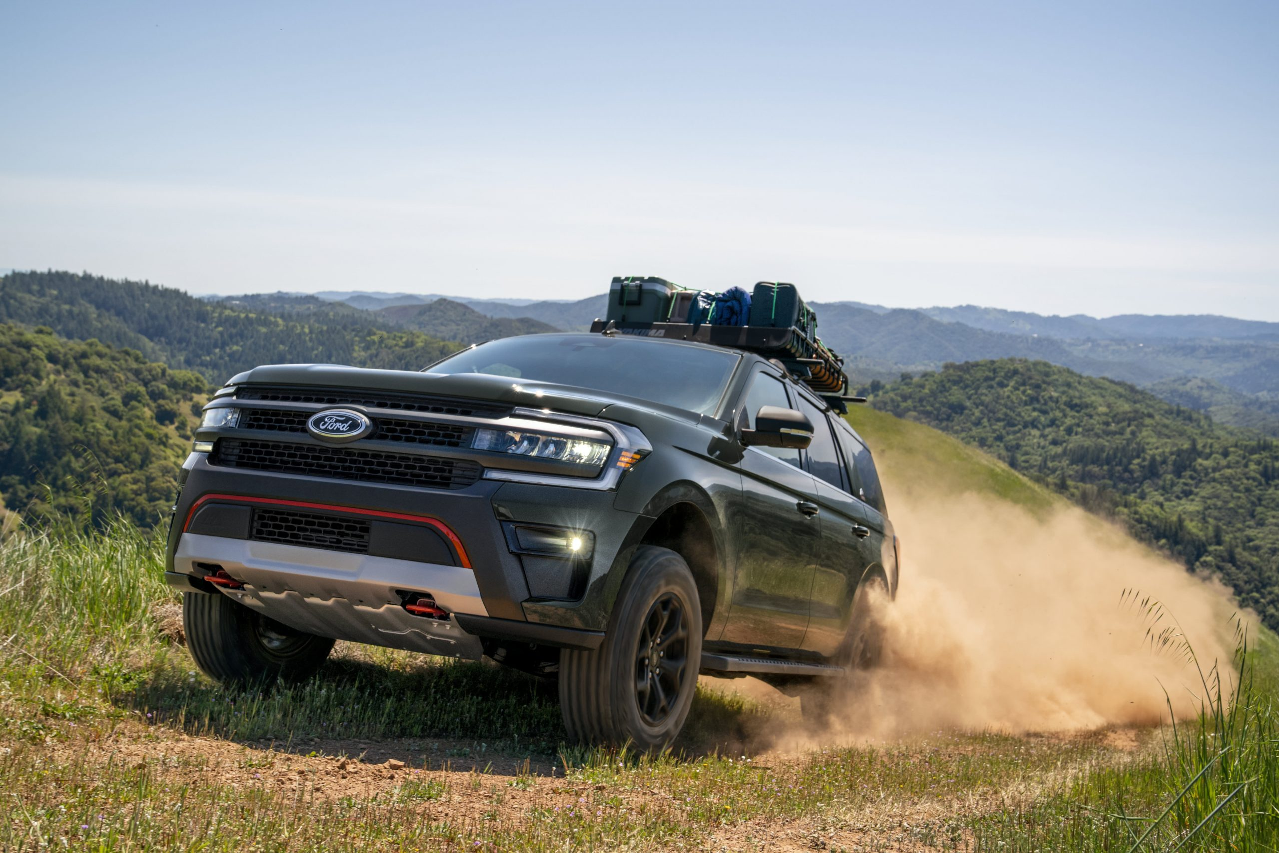 Ford unveils new Expedition Timberline; adds hands-free driving