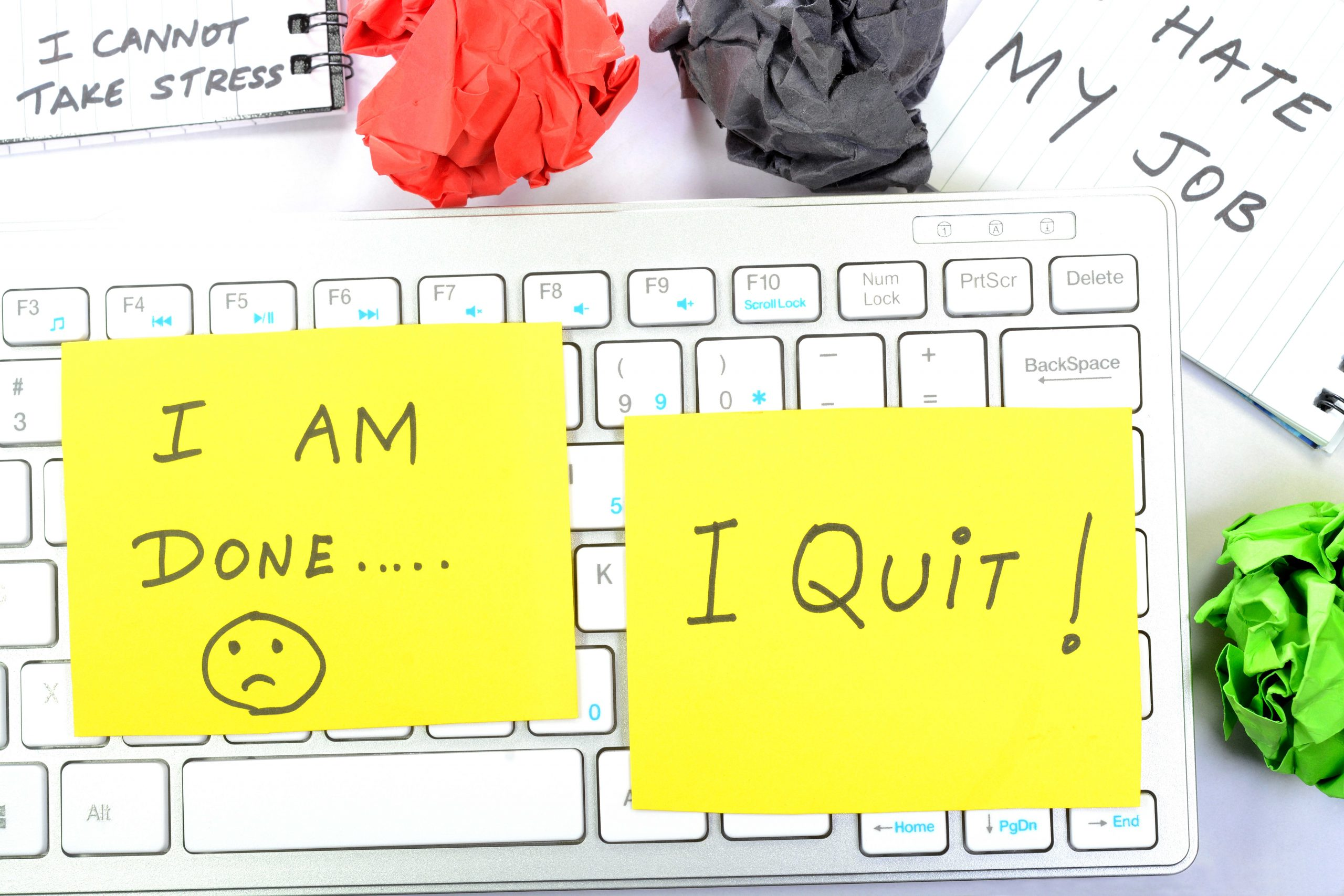Before you impulsively quit your job, do these four things first