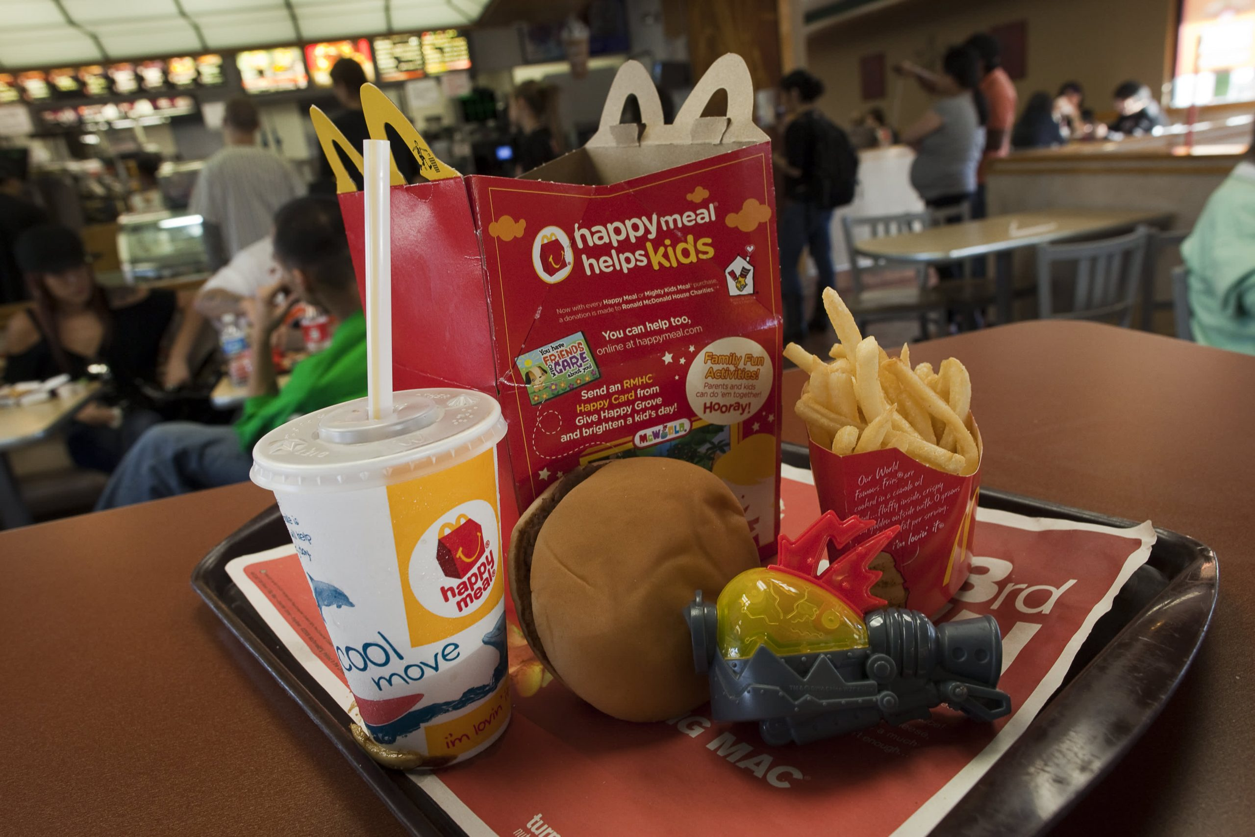 McDonald's to offer more sustainable Happy Meal toys by end of 2025