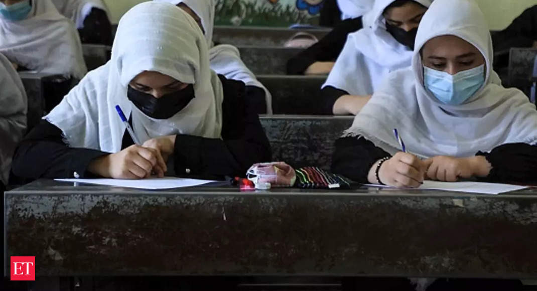 taliban: Taliban says girls to return to school 'as soon as possible'